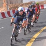 Team Novo Nordisk | 2018 Dubai Tour | Quentin Valognes | Intermediate Sprint Jersey