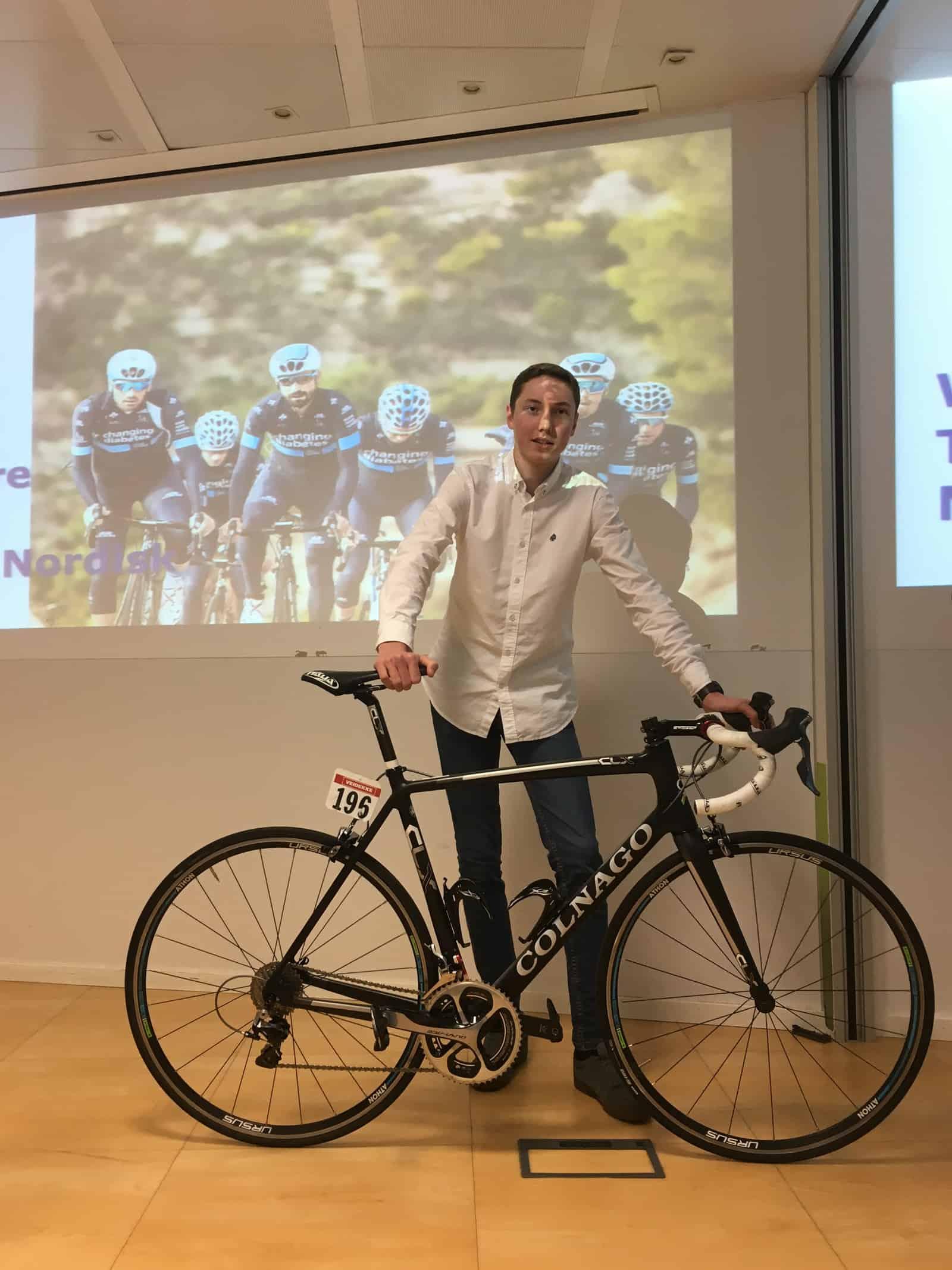 TNN Presents Colnago Bike to Contest Winner in Madrid