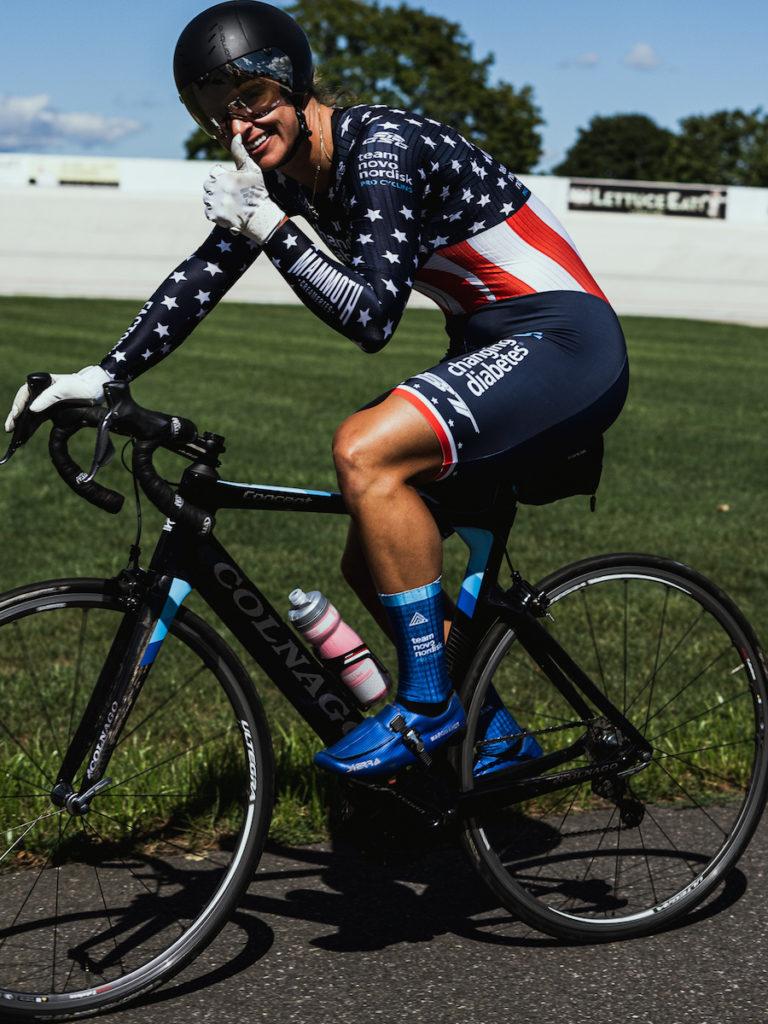 Mandy Marquardt   All-Diabetes Pro Cycling Team   Type 1 Diabetes   Team Novo Nordisk