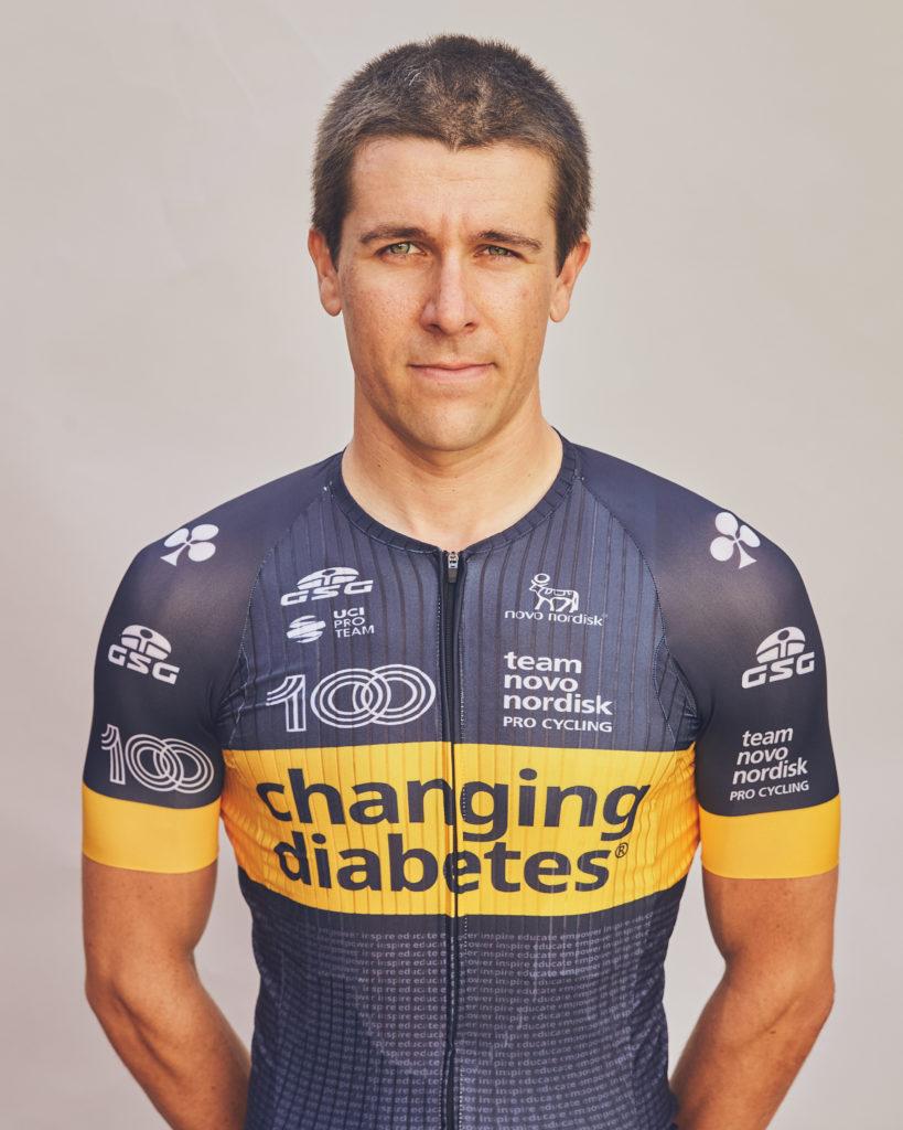 Stephen Clancy | Team Novo Nordisk | About Team Novo Nordisk