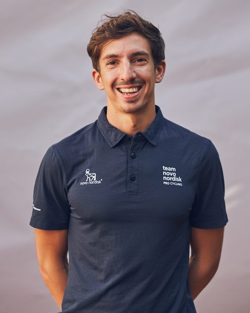 Federico Fontana | Team Novo Nordisk | About Team Novo Nordisk